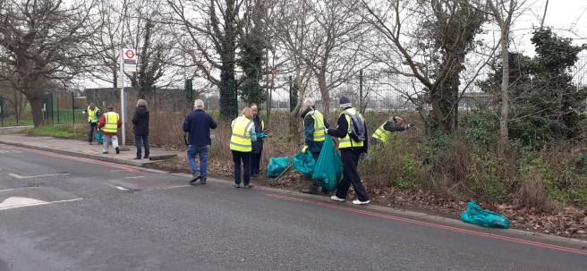 Litter Pick Jan 2020 - 1